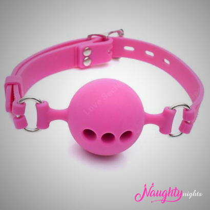 Mouth Ball Breathable Gap Pink