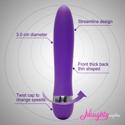 G-spot Waterproof Speed Adjustable Clitoris Stimulator AV Stick