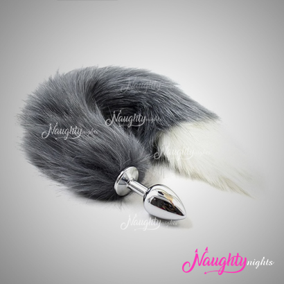 Fox Tail Diamond Anal Plug